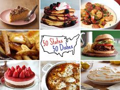 dinner, food blogs, 50 state
