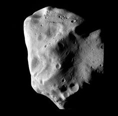 July 10, 2010. The Rosetta spacecraft captures this image of asteroid Lutetia during a close flyby. Credits: ESA 2010 MPS for OSIRIS Team MPS/UPD/LAM/IAA/RSSD/INTA/UPM/DASP/IDA