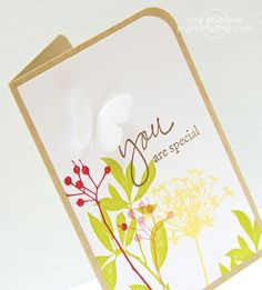 Julie Ebersole; really sweet and delicate card