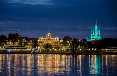 Looking to Magic Kingdom