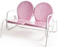 vintage pink glider