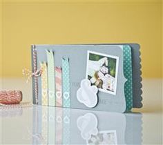 Celebrate your love with this stamped mini album!