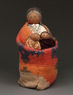 Grandmother Doll by Sylvia Begaye (Navajo)