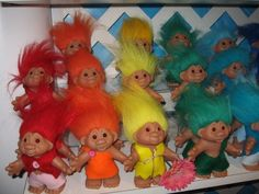 Image detail for -Another Variety of 2006 Dam Trolls in Their Traditional Felt Outfits