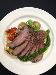 Grilled flank steak http://www.westmichigancaterer.com