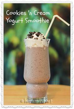 Cookies 'n Cream Yogurt Smoothie
