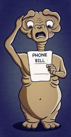 E.T. phone bill