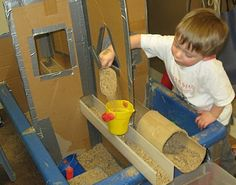 Great Sand and water table ideas!