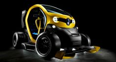 Renault Puts F1 Wings and KERS on the Twizy, Makes It as Fast as the Mégane RS 265!