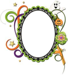 Scrapbooking TammyTags -- TT - Designer - 4 My Babies Scraps,  TT - Item - Frame, TT - Style - Cluster, TT - Theme - Halloween
