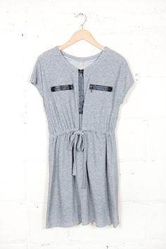 Zip It Up Dress