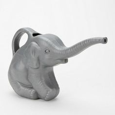 elephants, water plants, animals, urban outfitters, watering cans, eleph water, hous, garden, bowls