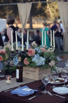 Vineyard wedding idea.