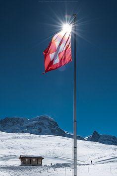 Switzerland in winter