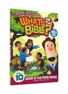 Buck Denver Asks, What's in the Bible, Kids DVD