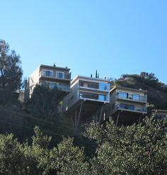 House on stilts hollywood hills