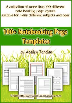 100+ Notebooking Pag