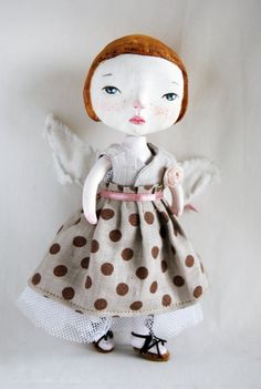 Art doll by MissSophie7arts on Etsy