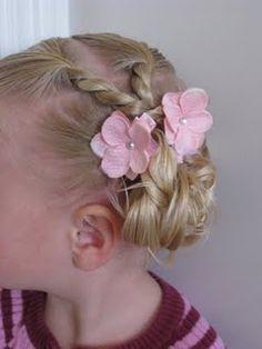 """Toddler """"fancy hair"""""""