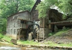 Tharpes Mill near Rhonda, Wilkes Co., NC. built 1884.