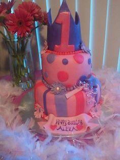 Princess Cake for my Baby Girl's 1st Birthday!