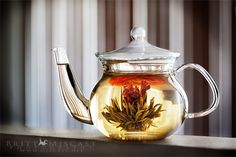 @BrittMiscast ::: What Ive been working on for the past three hours: the perfect image of Teavanas blooming tea.  Four images, three lights, and many adjustments later, I bring you this! :: #whatsinyourcup