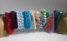 10 Fabulous and Free Crochet Bracelet Patterns! @ www.mooglyblog.com