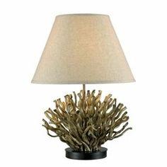 decor, piper tabl, natur reed, table lamps, kenroy, shade, homes, light, tabl lamp