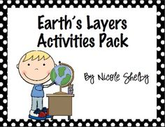 This Earth's Layers Activity Pack is full of activities to do if you are teaching the Layers of the Earth.  You can pick and choose or do them all....
