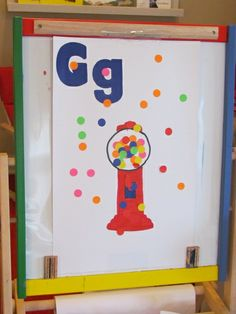 Alpha activities - Investigations include fine motor, art & letter related alpha activities to start the year  Gumball Fine Motor Play by Teach Preschool