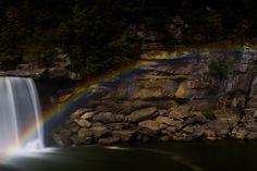 pictures of the moon bow at cumberland falls ky | ... Cumberland Falls - KY | 20120929 Moonbow - Cumberland Falls State Park