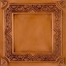 """For my ceiling in the """"gathering room"""" downstairs.   DCT_304 Faux Tin Ceiling Tile Drop in 24x24"""