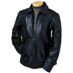 Womens leather jacket custom made style 1068NL image