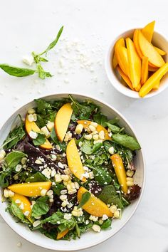 peach recip, salad recipes, corn salad, food, delici