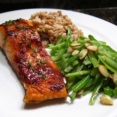 Miso Glazed Salmon by agoodappetite #Salmon #Miso