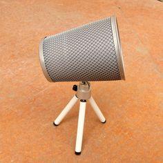Tutorial: DIY Designer Spotlight Lamp    Made with dollar store items!