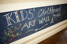 chalkboards, kid chalkboard, chalkboard walls, kid activ, chalkboard art, kids, textured walls, chalk art, art walls