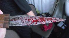 Stage blood dagger