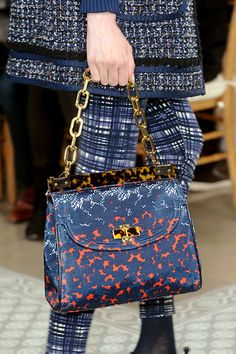Tory Burch Printed Faille Bag. Photo courtesy of @The Cut