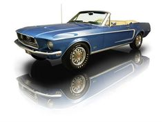 1968 Ford Mustang GT Convertible 390 V8 4 Speed