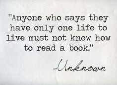 Read a book. <3