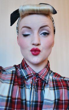 50s makeup