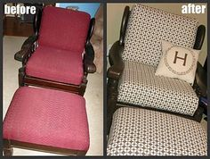 DIY Furniture : DIY Vintage Chair Transformation