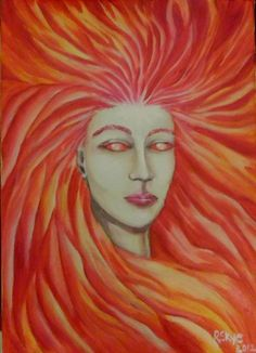Sunna  Norse Goddess of the Sun Print by TRSkye on Etsy