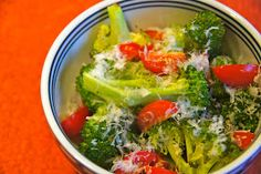 Pat & Gina Neely's Roasted Broccoli with Garlic and Cherry Tomatoes