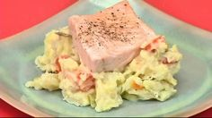 Mom would boil cabbage, potatoes, carrots and Polish sausage as a tasty dinner. This recipe changes out the sausage and brings back the boiled veggies I love. Sauteing the salmon in the onion, carrot and cabbage returns many of my favorits back to the dinner table.