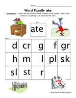 Word Family Worksheets, Word Family Worksheet, Free Word Family Worksheets, Word Families Worksheets, Word Families Worksheet, Word Family Activities, Word Family Printables