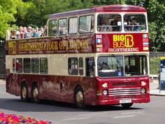 Things to see in London. Sightseeing Bus tours.
