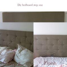 Diy bed board