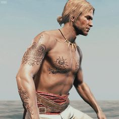 edward kenway 39 s tattoos assassinscreed. Black Bedroom Furniture Sets. Home Design Ideas